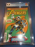Avengers #196 Reprint 1st Taskmaster Key CGC 9.8 NM/M Gorgeous Gem wow