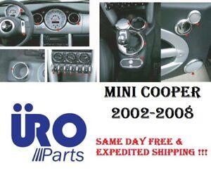 MINI Cooper Interior Molding Kit Chrome Ring Trim Cooper Model 971089 URO