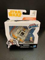Star Wars Micro Force Snowspeeder Luke Skywalker