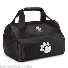 BLACK PET Dog GROOMER GROOMING Mobile Travel Storage Tool Case Tote DUFFLE BAG
