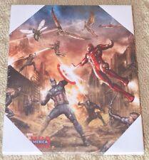 Marvel Avenger Civil War canvas print~Captain America~Iron Man~Black Panther~NEW