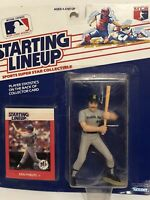 1988 Starting lineup Ken Phelps figure Toy Card Seattle Mariners Rare Piece