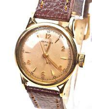 Beautiful 1949/50 HAMILTON Nordon CLD Manual Winding 10K GF Watch, Running Well
