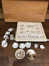 Miniature Doll Tea Set And More