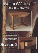 David J Marks WoodWorks Season 2 DVD Woodworking Furniture Instruction DIY Video