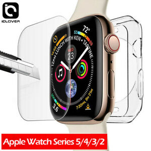 Apple Watch Series 6 5 3 SE Full Body Cover Screen Protector+TPU Case 42/40/44MM
