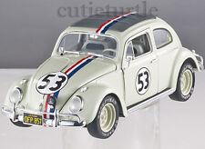Hot Wheels Elite Herbie Goes To Monte Carlo #53 VW Volkswagen Beetle 1:18 BLY22