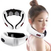 Electric Pulse Neck Massager Cervical Vertebra Impulse Massage Magnetic Therapy