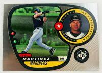 1998 Upper Deck UD3 Edgar Martinez #63 Seattle Mariners HOF
