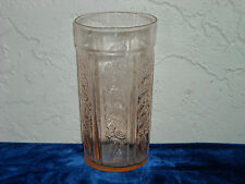 Sharon Cabbage Rose Thin 12-Ounce Tumbler  Pink