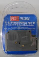 Peco PL-51 Turnout/Point Switch Module - Add On. NEW  (Model Railways)