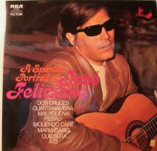 "JOSE FELICIANO - A SPANISH PORTRAIT OF JOSE FELICIANO 2LP 12"" LP  [k4]"