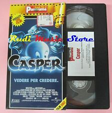 film VHS cartonata CASPER VEDERE PER CREDERE Universal PANORAMA  (F16)  no dvd