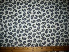 """PURPLE/GREEN FLORAL PAISLEY 100% COTTON QUILTER FABRIC 44"""" W BTY"""