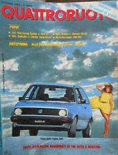 Quattroruote 336 1983 Alfa Giulietta e Alfetta turbo diesel.Prove per la Golf