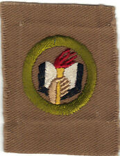 BOY SCOUT SCHOLARSHIP #3 SQUARE TEENS MERIT BADGE (TYPE AA)