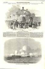 1856 James Kate Portsmouth Liberty Men Returning Naval Review