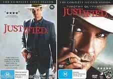 Justified : Season 1 & 2 : NEW DVD