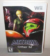 METROID Other M SEALED NEW Nintendo Wii Team Ninja Shooter Action Adventure