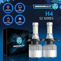 2x H4 HB2 9003 300000LM 2000W LED Headlight Kit Hi/Lo Beam Bulb High Power 6000K