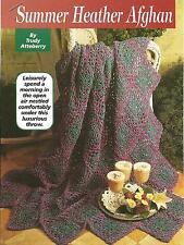 *Summer Heather Afghan crochet PATTERN INSTRUCTIONS