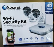 Swann HD 720p Monitoring System with 2 x Day/Night Cameras Read Description