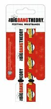 The Big Bang Theory Pack Of 2 Fabric Festival Wristbands BY PYRAMID FWR68004