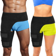 Groin Wrap Support Thigh Pain Relief Brace Hip Hamstring Recovery Compression