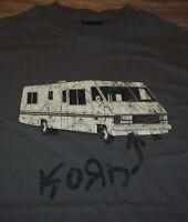VINTAGE STYLE KORN RV T-Shirt 2003 MEDIUM NEW