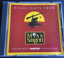 Miss Saigon Highlights CD Brand New And Sealed Free Post