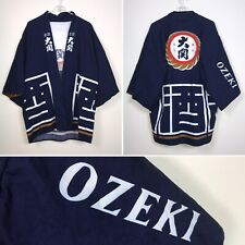 Ozeki Chinese Japanese Kimono Cover Up Robe Top Asian Culture One Size Fits Most
