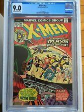 CGC 9.0 X-Men #85 *OW-White*1973*New Case*
