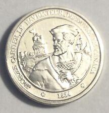 Médaille Histoire De France En Argent Jacques Cartier Découvreur Du Canada 1534