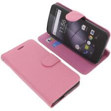 Tasche für Gigaset GS160 / GS170 Book-Style Schutz Hülle Handytasche Buch Pink
