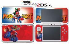 Mariokart 7 3D Super Mario Luigi Kart DS Game Decal Skin New Nintendo 2DS XL