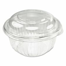 Dart C12Bcd, 12 Oz Clear Plastic Salad Bowl with Clear Dome Lid, (50)