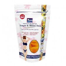 YOKO Whitening Spa Salt for Armpit Bikini Area 220g Nature Herbal essence Scrub