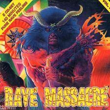 Rave Massacre Vol. IV- 2CD NEU OVP - HARDCORE GABBER