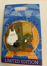 Disney Epcot Food and Wine 2021 Limited Edition Robin Hood Pin New with Card