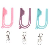 Professional Child Safety Belt Keychain Tool Car Seat Key Safety Seat Unl JR