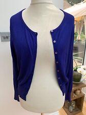 LkBennett Blue Cardigan Size Large