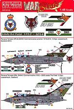 Kits World Decals 1/48 PANAVIA TORNADO GR4 Leads the Field Commemorative Schemes