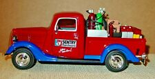 1937 FORD PICKUP TRUCK WITH LOAD - SENTRY HARDWARE -  MINT