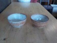 Brown Pottery Bowls