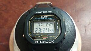 Vintage Rare Casio G-Shock DW-5600 DW 5600 901 H Speed Version Chrono Watch