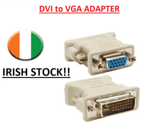 DVI 24 1 DVI male 24+1 24+1 to VGA female adapter for PC HDTV Video Monitor
