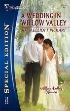 SE A Wedding in Willow Valley #1754 Joan Elliott Pickart 2006 Romance Novel Book
