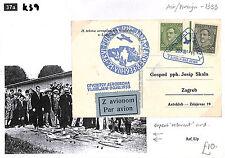 "K39 1933 la Jugoslavia, aria / stranieri-Superbo ""relevant"" CARD"