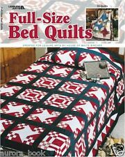 Full Size Bed Quilts (2004  Brand New Paperback by Leisure Arts) WE70799