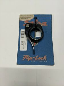 Salsa Flip Lock Quick Release Seat Post Clamp Collar 30.6 Black NEW